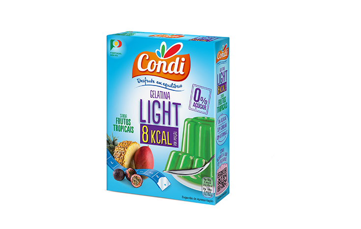 Gelatina Light  F. Tropicais Condi 30g