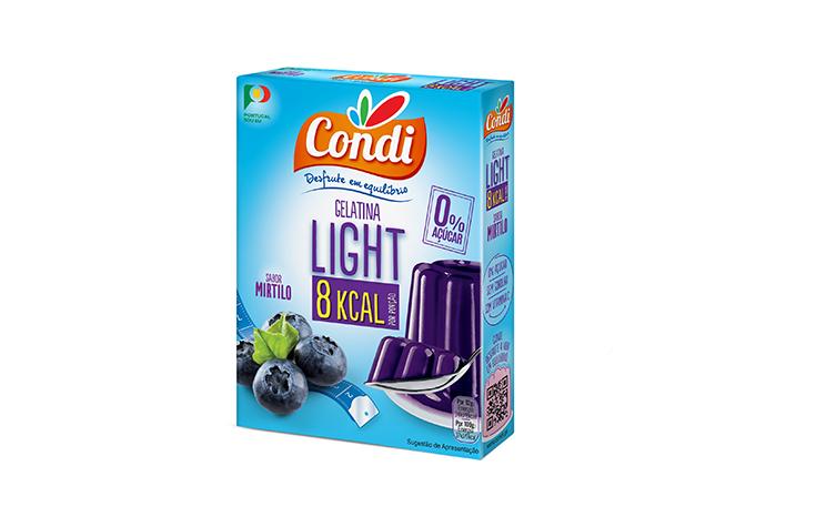 Gelatina Light  Mirtilo Condi 30g