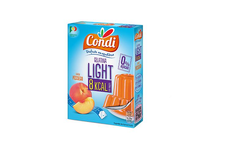Gelatina Light Pêssego Condi 30g