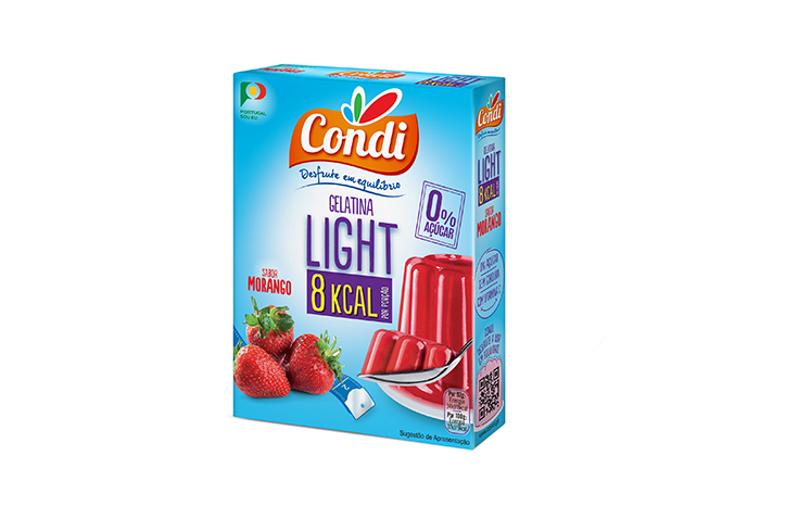 Gelatina Light  Morango Condi 30g